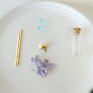 フレグランスハーバリウムの材料