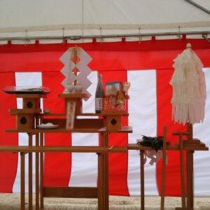 タマホームの地鎮祭