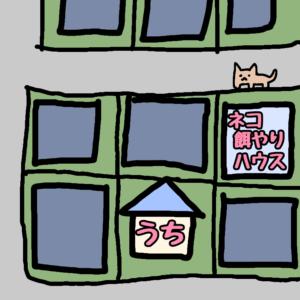 猫餌やりハウス